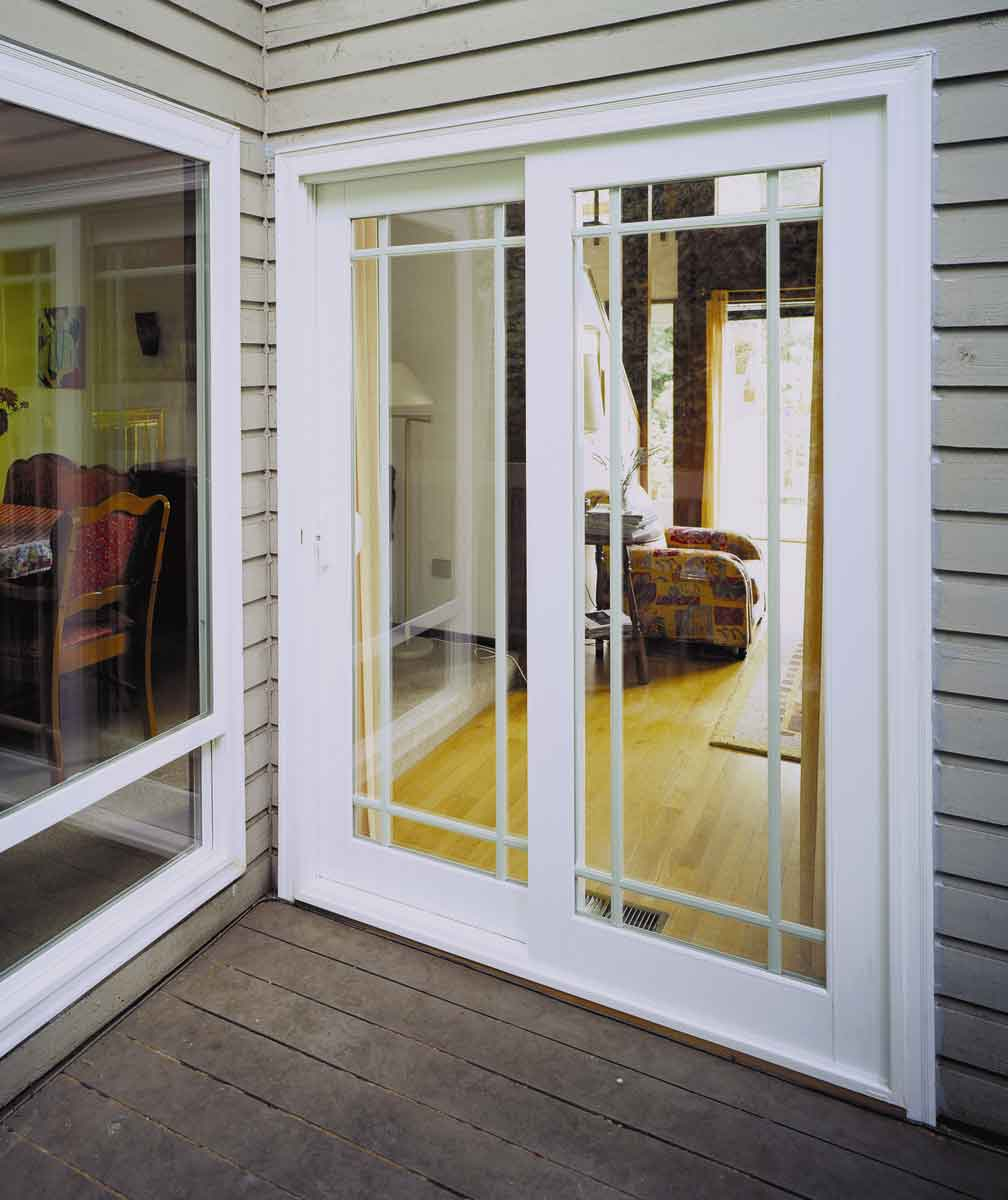 Replace Sliding Gl Door With French